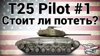 T25 Pilot Number 1 - Стоит ли потеть?