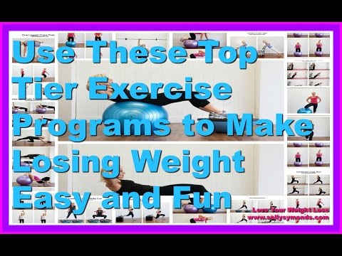 Use These Top Tier Exercise Plans To Make Losing Weight Easy and Fun