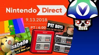 [Vinesauce] Joel - Nintendo Direct 9.13.2018 Reaction & Commentary