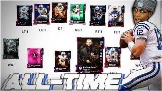 THE ALL-TIME INDIANAPOLIS COLTS THEMED TEAM! Madden 19 Ultimate Team