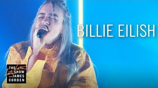Billie Eilish - Ocean Eyes ( Live On The Late Late Show )