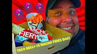 TACO BELL® $5 NACHO FRIES BOX RETURNS!