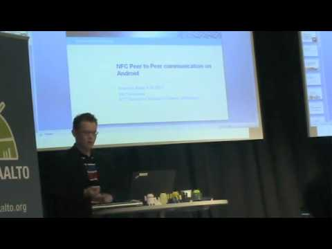 Android Aalto Keynote: NFC (part 3)