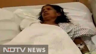 Indian woman's hand chopped off by employer in Saudi Arabi..