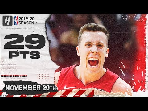 Duncan Robinson 29 Points Highlights | Cavaliers vs Heat | November 20, 2019