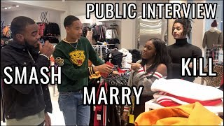SMASH MARRY KILL | PUBLIC INTERVIEWS