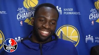 Draymond Green: 'Thank God I got suspended' | NBA Sound