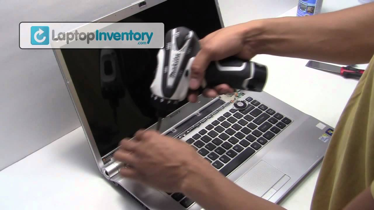 Sony Vaio Laptop Repair Fix Disassembly Tutorial