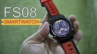 FS08 Smart Watch with GPS, Compass, always on Transflective display