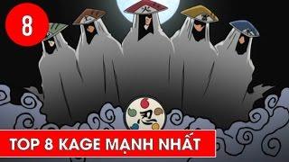 Top 8 Kage mạnh nhất trong Naruto - Shounen Action