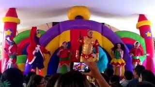 Show Navidad Animarcianos CDMX Botargas la gallina pintadita Tel. 015565663077