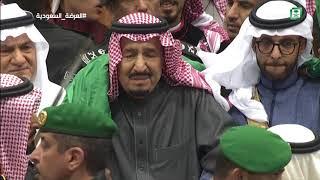 خادم الحرمين الشريفين يرعى حفل العرضة السعودية ضمن نشاطات المهرجان ...