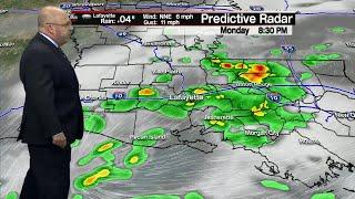 Rob's forecast Monday weather November 19th