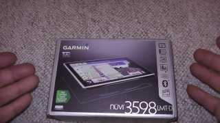 Garmin 3598 LMT D Unboxing PL