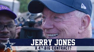 Jerry Jones: Talks Contracts And More | Dallas Cowboys 2019