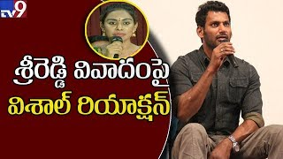 Sri Reddy shames Tollywood : Actor Vishal..