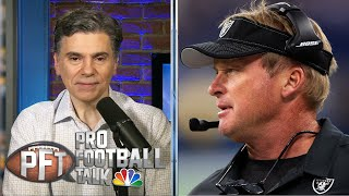 Jon Gruden's COVID-19 prank preps Raiders for his possible absence | Pro Football Talk | NBC Sports