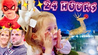 24 HOURS of CHRISTMAS MAGIC!   Vlogmas Special   Cullen & Katie