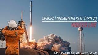 Watch SpaceX launch a lunar lander!