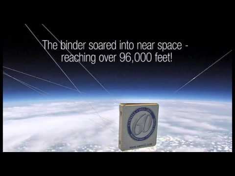 Samsill Launches Custom 3 Ring Binder into Space with Help from Texas A&M
