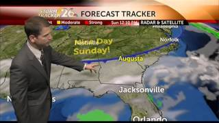 Augusta, GA weather forecast for Saturday, 11/9/2013