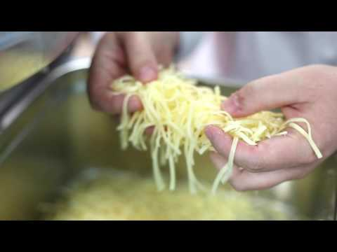 Cheese grating wtih sammic vegetable slicer CK 301
