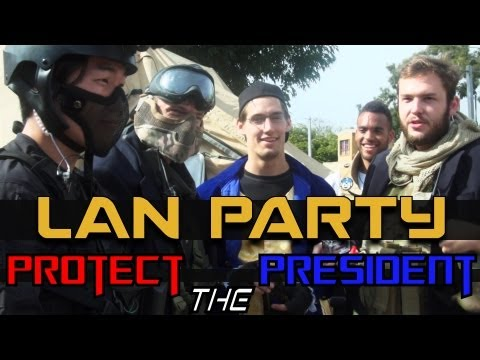 MAN Party: Protect The President Airsoft - NODE - Smashpipe Games