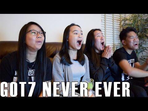 GOT7 (갓세븐)- Never Ever (Reaction Video)