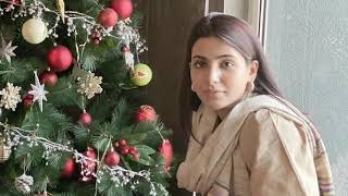 Samantha Akkineni Christmas celebrations latest clips..