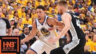 Golden State Warriors vs San Antonio Spurs Full Game Highlights / Game 1 / 2018 NBA Playoffs