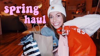 TRY ON SPRING CLOTHING HAUL!!!