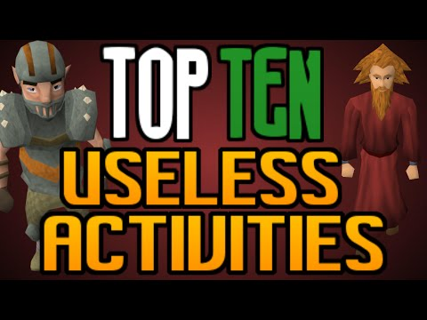 Top 10: LEAST Useful Things to do! [Runescape 2014]