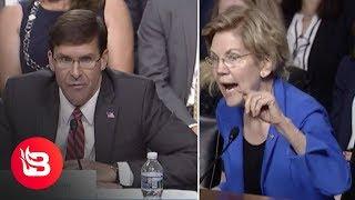 Elizabeth Warren Tries to Shame SecDef Nominee Mark Esper, Backfires Spectacularly