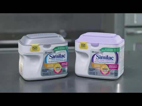 video Similac Pro-Total Comfort – 22.5 oz – Powder – 4 Pack