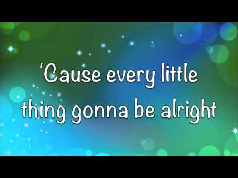 Bob Marley - Three Little Birds - Lyrics!! - (HD)