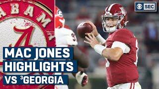 Mac Jones vs. #3 Georgia Bulldogs Highlights: Jones throws for over 400 yards | CBS Sports HQ