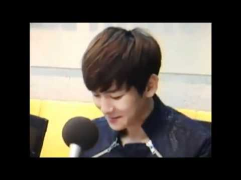 120515 EXO-K BAEKHYUN's Dating Skills Cut @ Younha's Starry Night Radio