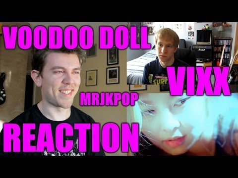 MRJKPOP REACTION: 빅스 VIXX - 저주인형 VOODOO DOLL Official Music Video