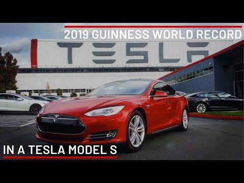Tesla Model S World Record