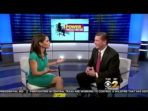 "Steve McClatchy | ""The Power of Procrastination"" on CBS"