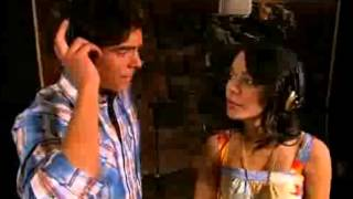 """Zac Efron And Vanessa Hudgens Recording """"I Gotta Go My Own Way"""" From High School Musical 2"""