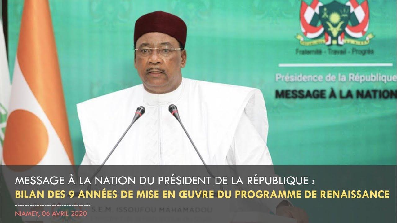 Message à la Nation du Président de la République : Bilan des 9 ans du Programme de Renaissance