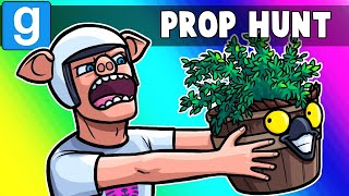 Gmod Prop Hunt Funny Moments - You Thought He Was a Pott, But He's Nott!
