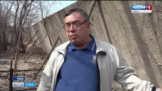 На Северо-восточном кладбище могилам угрожает бетонный забор