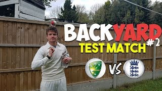 BACKYARD CRICKET | YOU WON'T BELIEVE THE RESULT! (Test Match) - YouTube