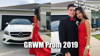 GET READY WITH ME: SENIOR PROM 2019