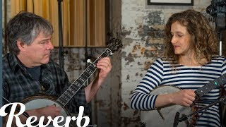 Béla Fleck & Abigail Washburn: Clawhammer vs. Three-Finger Banjo Style | Reverb Interview