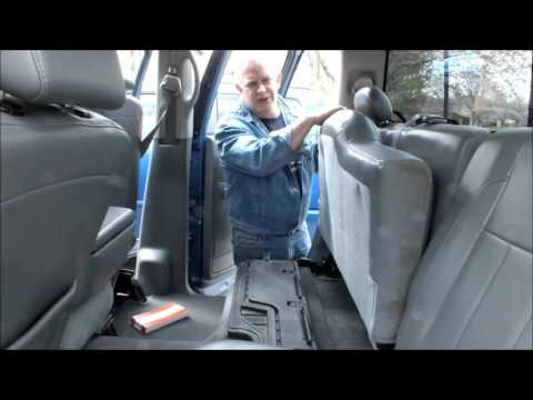 Dodge Ram Crew Cab Rear Seat Stuck And How To fix it