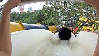 Love Water Slide at Dam Sen Water Park