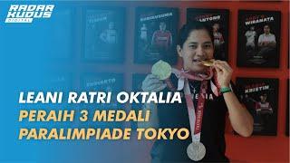 Begini Perjuangan Leani Ratri Oktalia Hingga Raih 3 Medali di Paralimpiade Tokyo